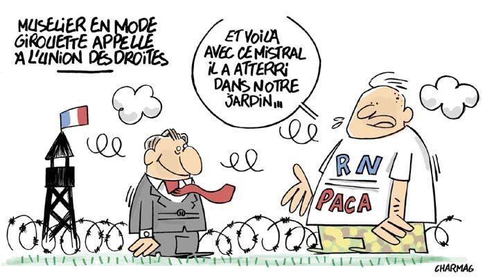 Régionales PACA : L'OPA de LREM sur LR sème la confusion à droite..
